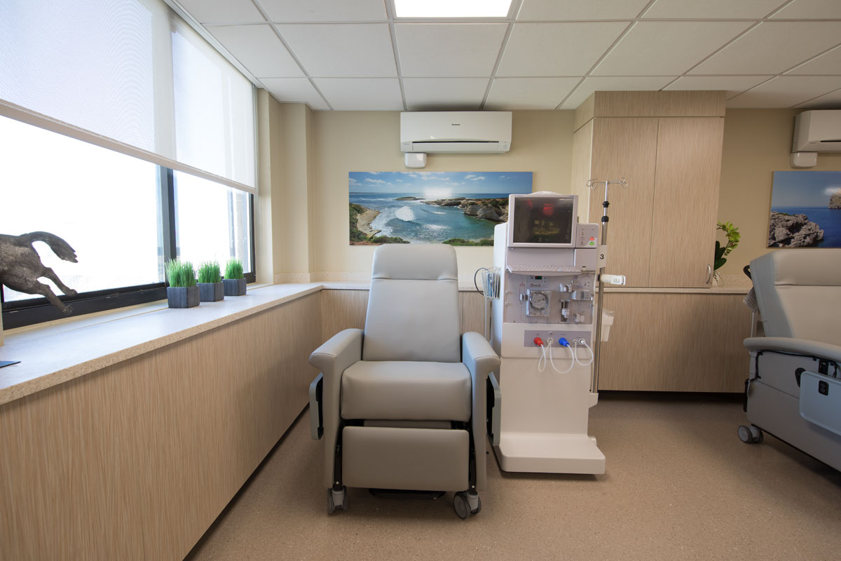 New Dialysis facility at Sea Crest Nursing and Rehabilitation Center